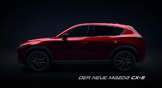 video mazda der neue mazda cx 5 2017 werbung spot. Black Bedroom Furniture Sets. Home Design Ideas