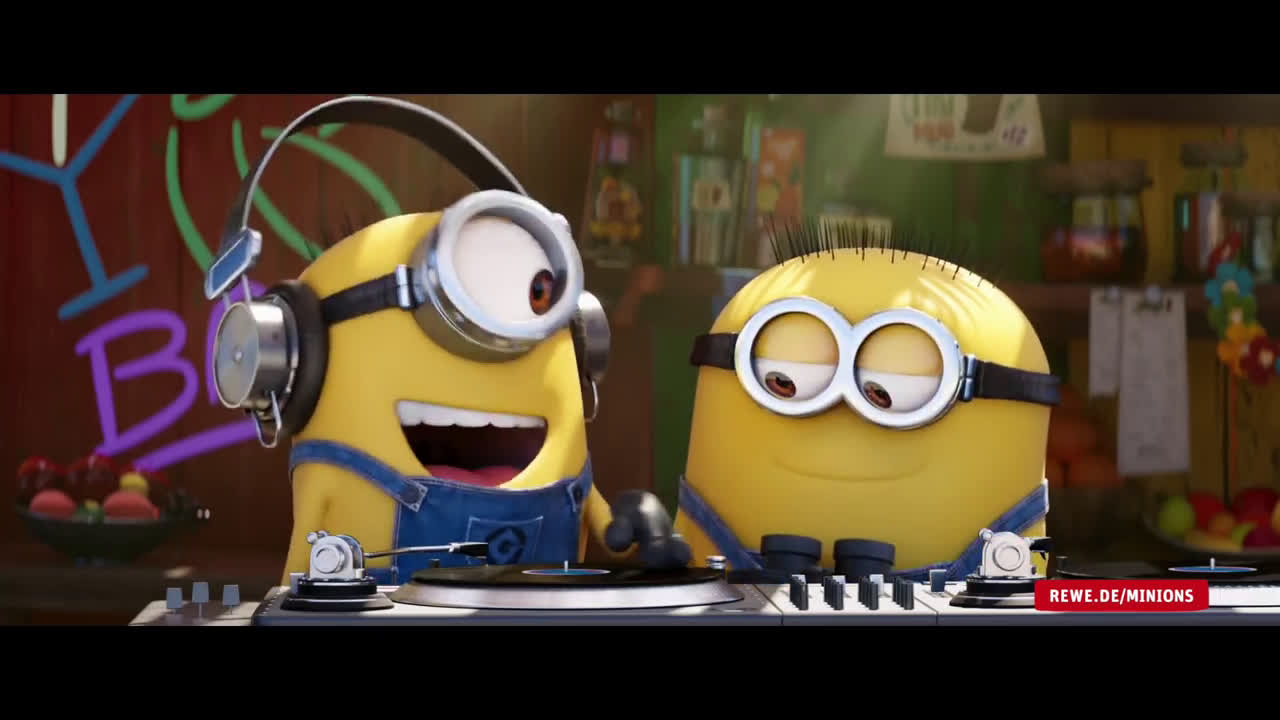 video rewe minions werbung spot. Black Bedroom Furniture Sets. Home Design Ideas