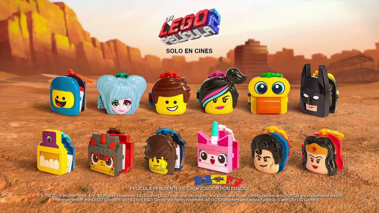McDonald ¡Los juguetes de Lego en tu Happy Meal! anuncio