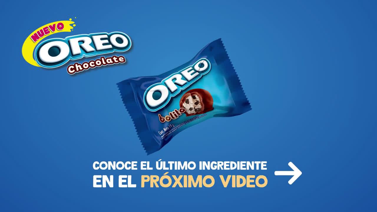 Oreo Nuevo Chocolate Oreo - Suave crema mmm... anuncio