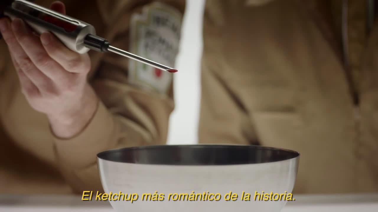 Heinz EL KETCHUP ROMÁNTICO: EL DESENLACE anuncio