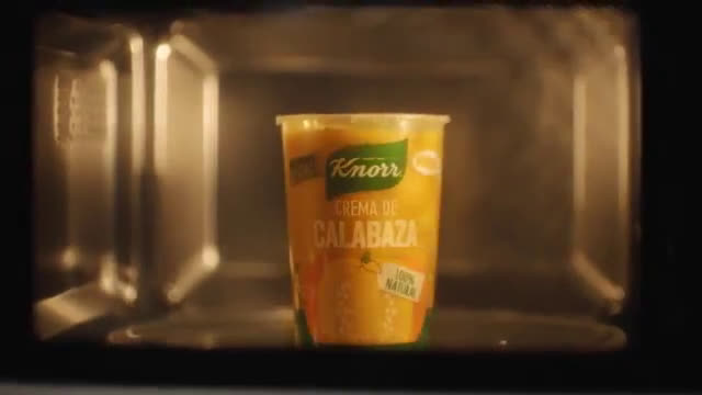 Knorr Nuevas cremas frescas refrigeradas Knorr anuncio