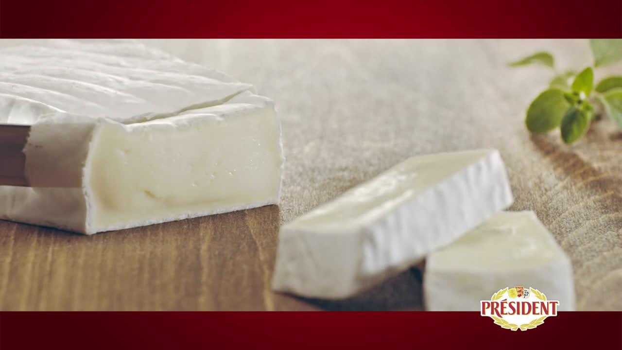 Président Brie - Un verdadero placer suave y cremoso anuncio