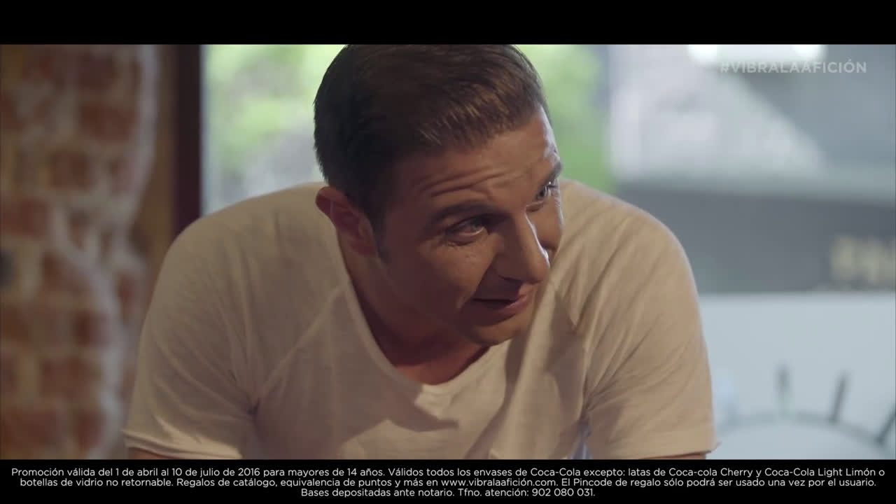 Coca Cola Joaquín y la pareja - Vibra la Afición anuncio