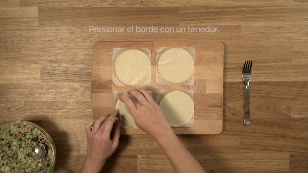 Almax Recetas sin acidez en 1 minuto - Empanadillas de atún anuncio