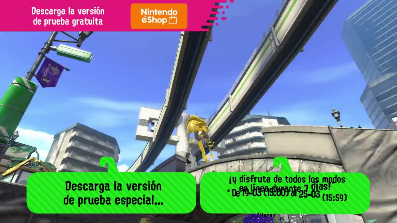 Nintendo Splatoon 2 - ¡Ponedlo todo perdido de tinta en la demo especial! (Nintendo Switch) anuncio