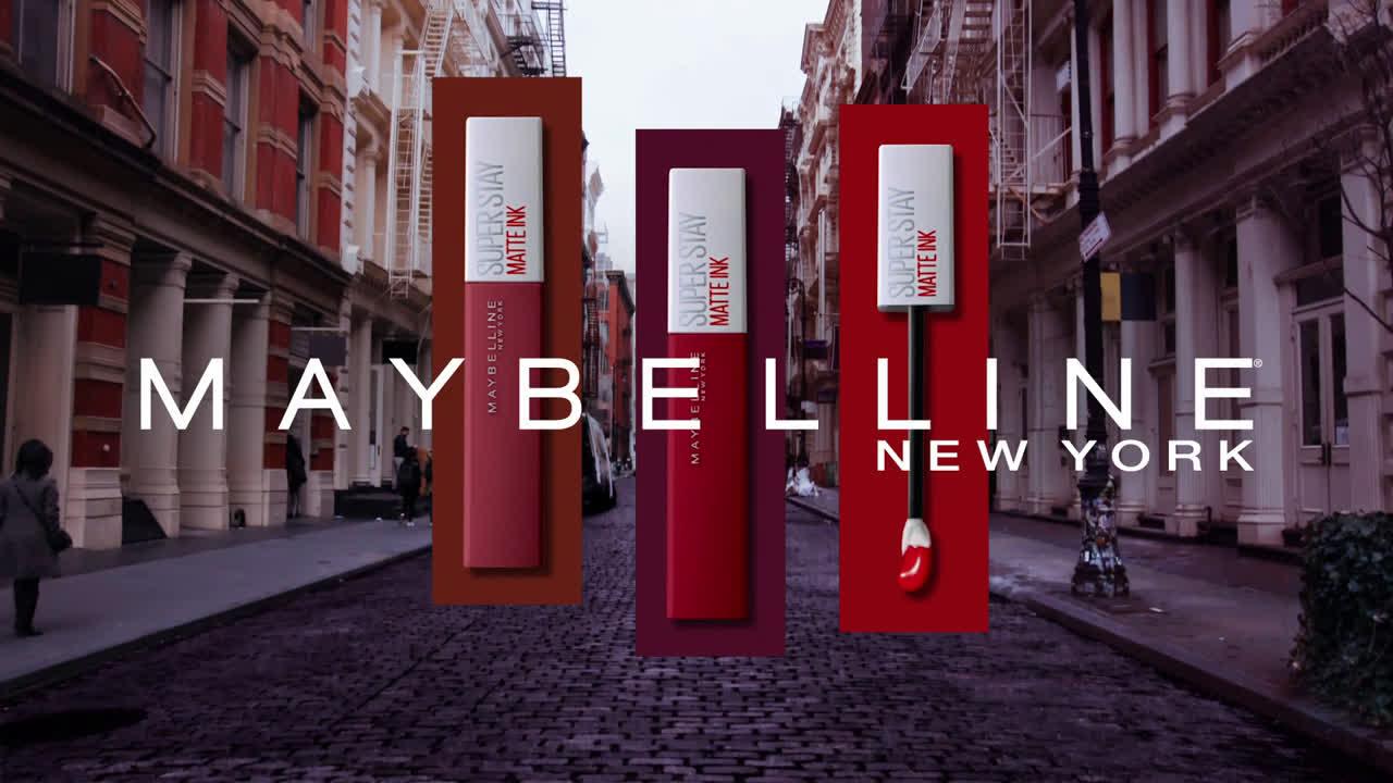 Maybelline ¡SuperStay Matte Ink crece! Nuevos tonos del pintalabios más vendido anuncio