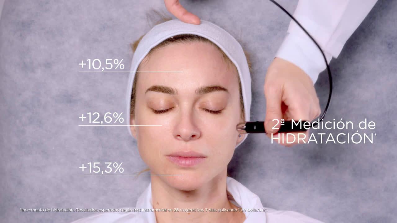 L`oreal Ampollas rellenadoras Revitalift Filler con ácido hialurónico by Marta Hazas anuncio
