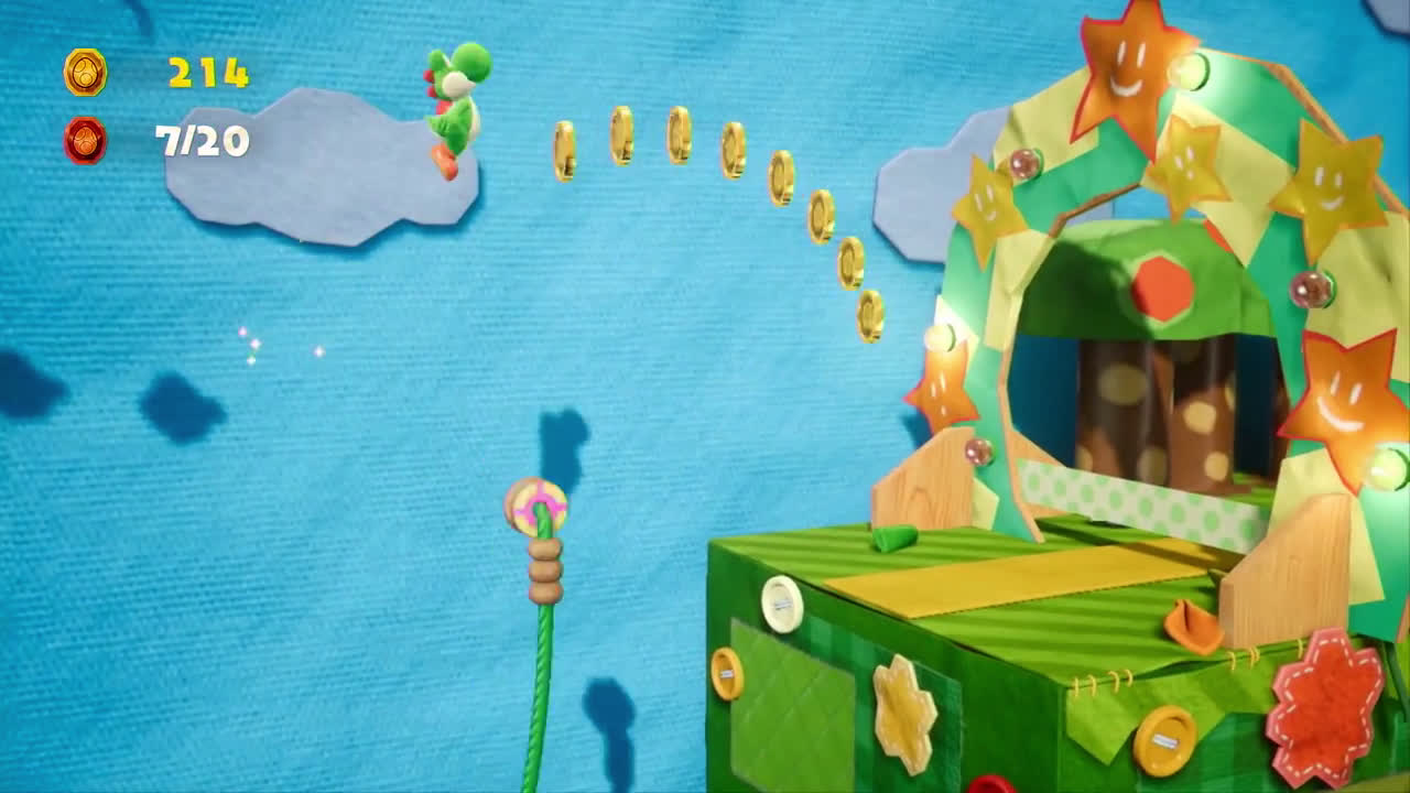 Nintendo Yoshi's Crafted World - Yoshi para principiantes (Nintendo Switch) anuncio