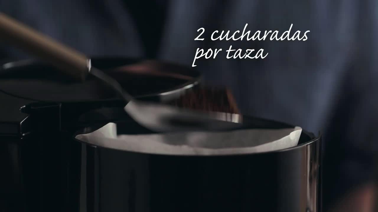 Nestlé ¿Cómo hacer café en cafetera de goteo? - Tutorial para preparar café anuncio