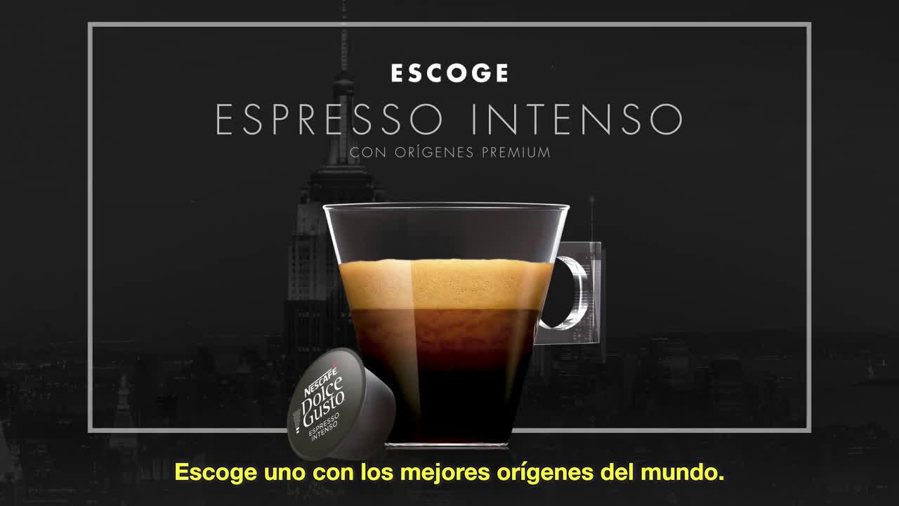 NESCAFÉ Dolce Gusto Elige Espresso Intenso de Nescafé Dolce Gusto #TuCaféTeDelata anuncio