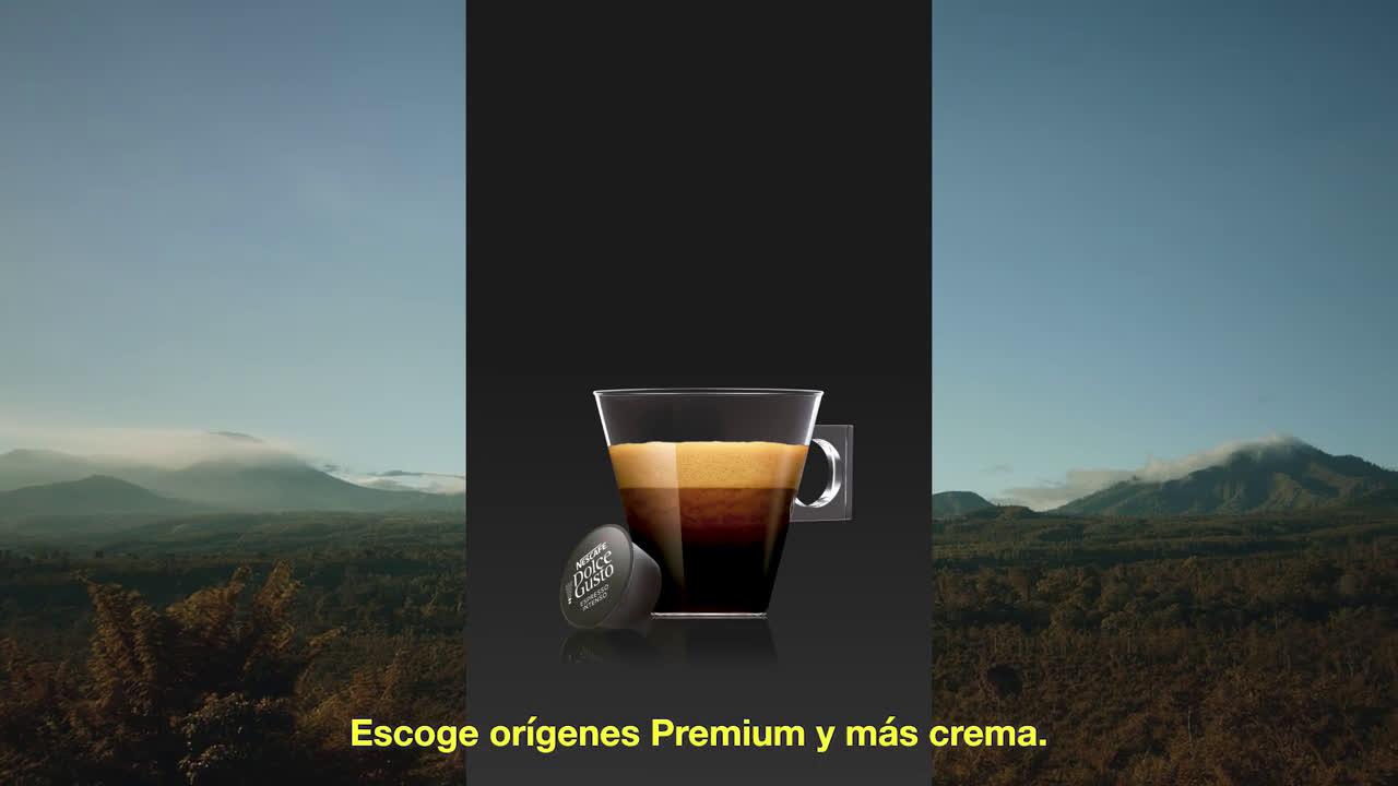 NESCAFÉ Dolce Gusto Gama de Espressos de Nescafé Dolce Gusto #TuCaféTeDelata anuncio