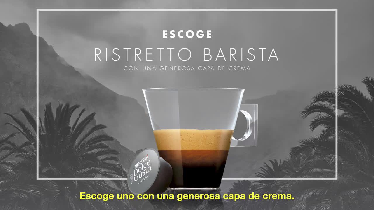 NESCAFÉ Dolce Gusto Elige Ristretto Barista #TuCaféTeDelata anuncio