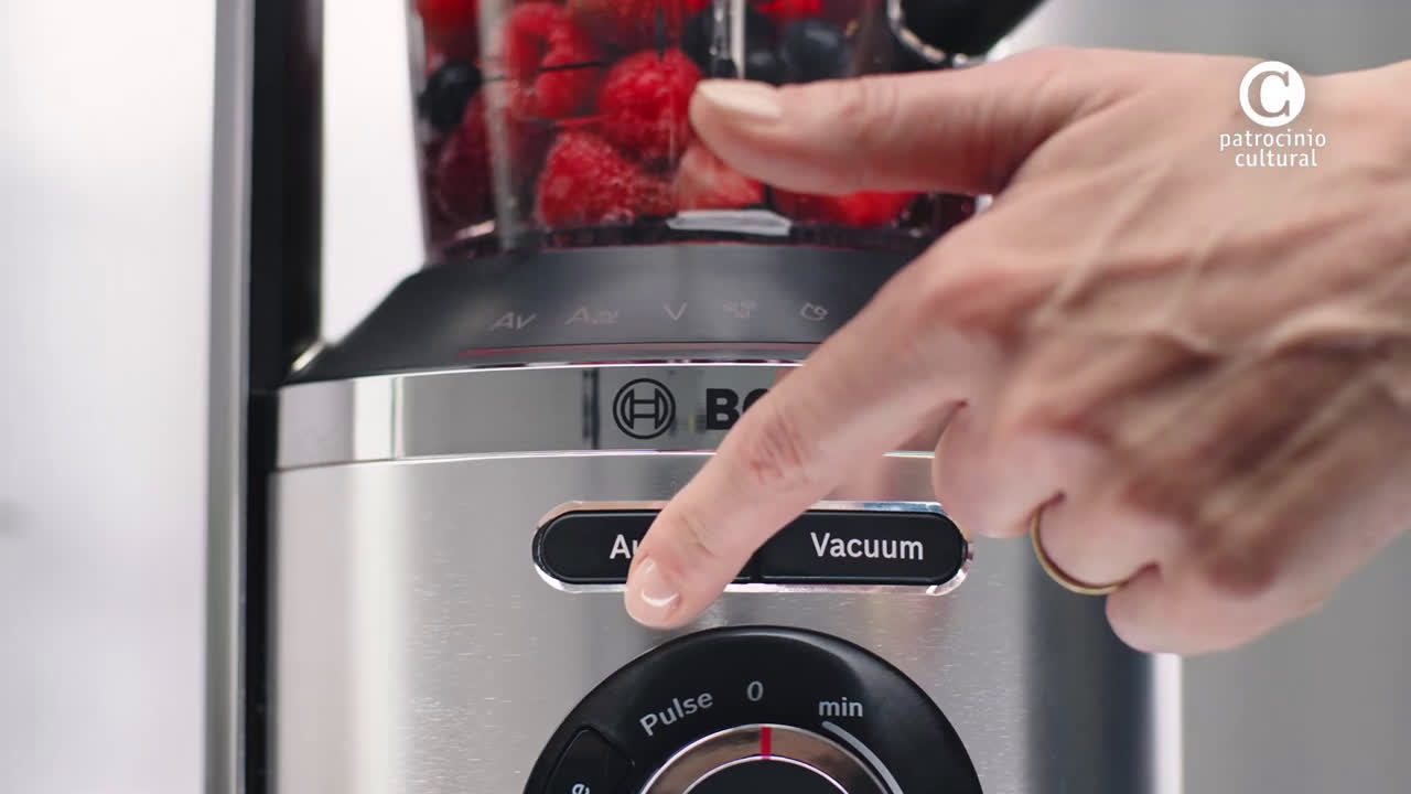 Bosch La batidora de vaso al vacío VitaMaxx patrocina MasterChef anuncio