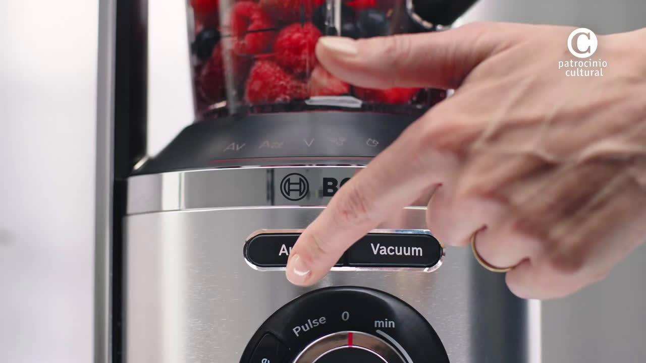 """Bosch La batidora de vaso al vacío VitaMaxx patrocina """"Hacer de comer"""" anuncio"""
