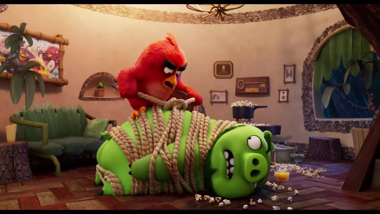 Sony Pictures Entertainment ANGRY BIRDS 2: LA PELÍCULA. Avance exclusivo. En cines 23 de agosto anuncio