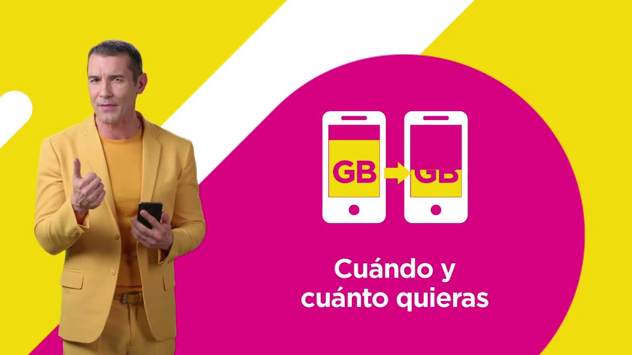 Jazztel Comparte tus GB con Jazztel anuncio