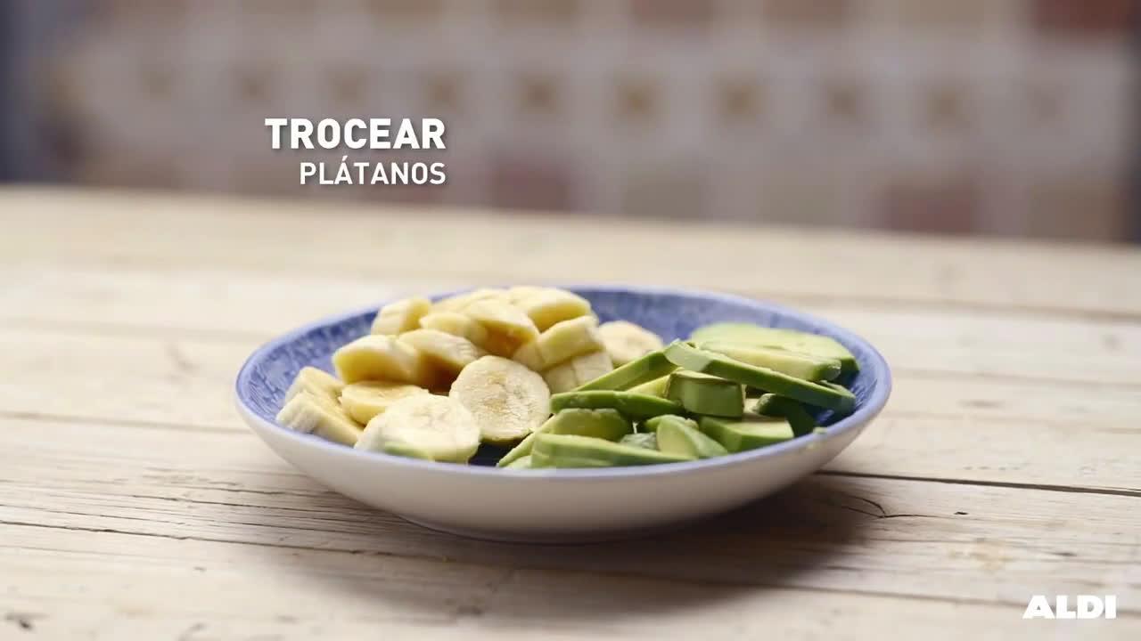 Aldi Tarta de chocolate, aguacate y plátano anuncio