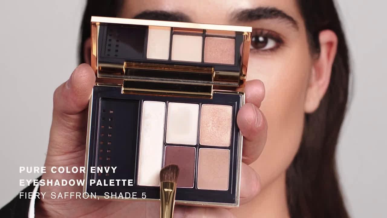 """Estee Lauder Luce resplandeciente y recrea el look """"Midnight Sun"""" anuncio"""