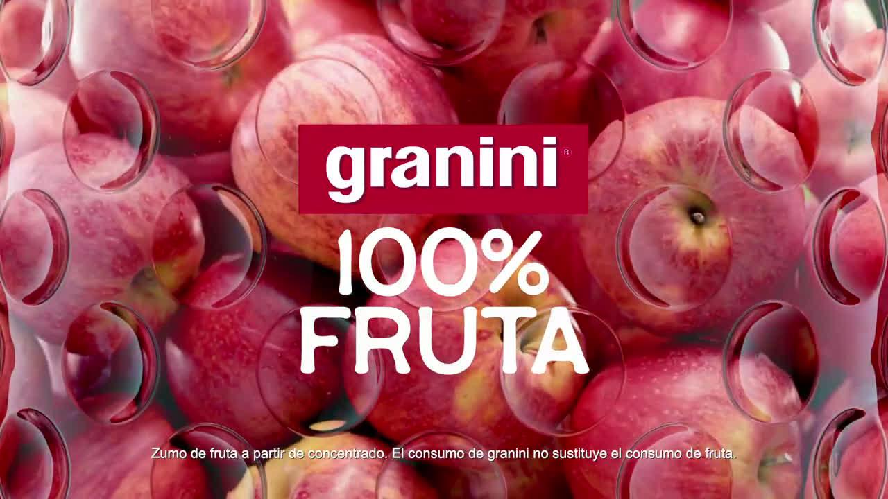 granini Nuevos granini 100% fruta - Manzana anuncio