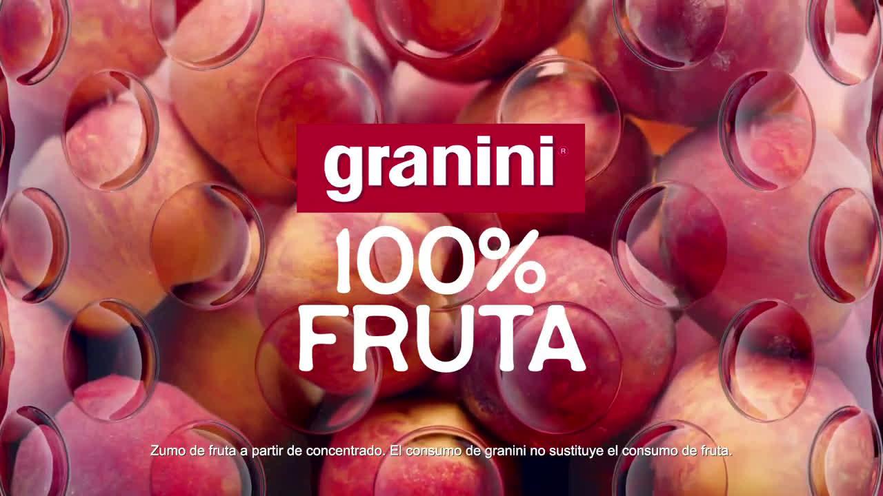 granini Nuevos granini 100% fruta - Melocotón anuncio