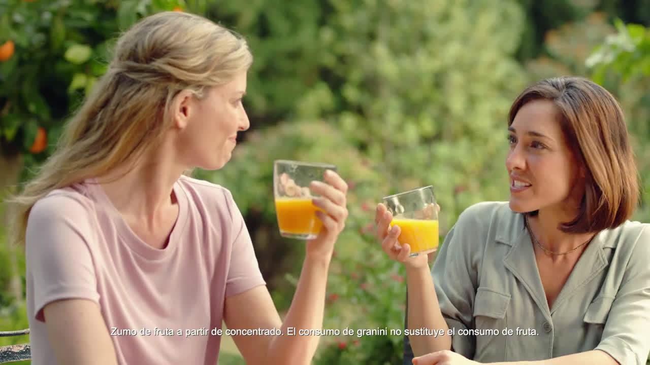 granini Nuevos granini 100% fruta anuncio