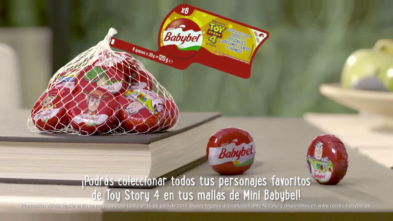 Babybel ¡Ahora con Mini Baby Bel puedes ganar premios para disfrutar hasta el infinito y más allá! anuncio