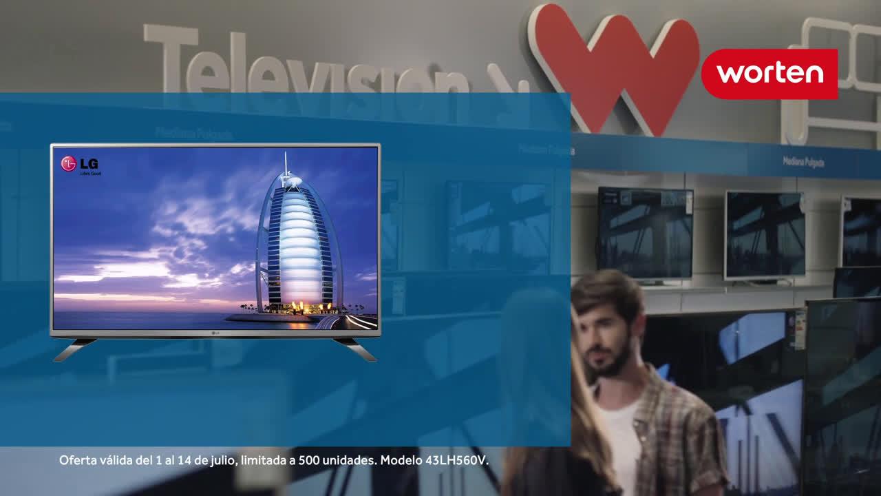 Worten TV LED LG FHD de 43