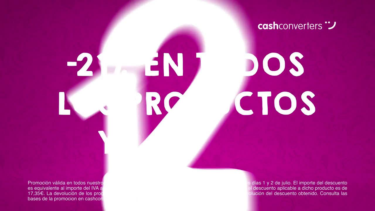 CashConverters El elefante de los días sin IVA - ¡-21% en todos los productos anuncio
