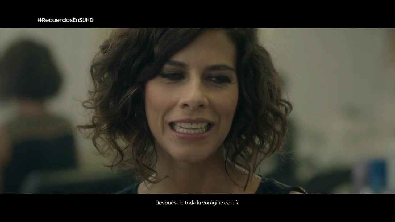 Samsung Recuerdos en SUHD: Cristina Teva anuncio