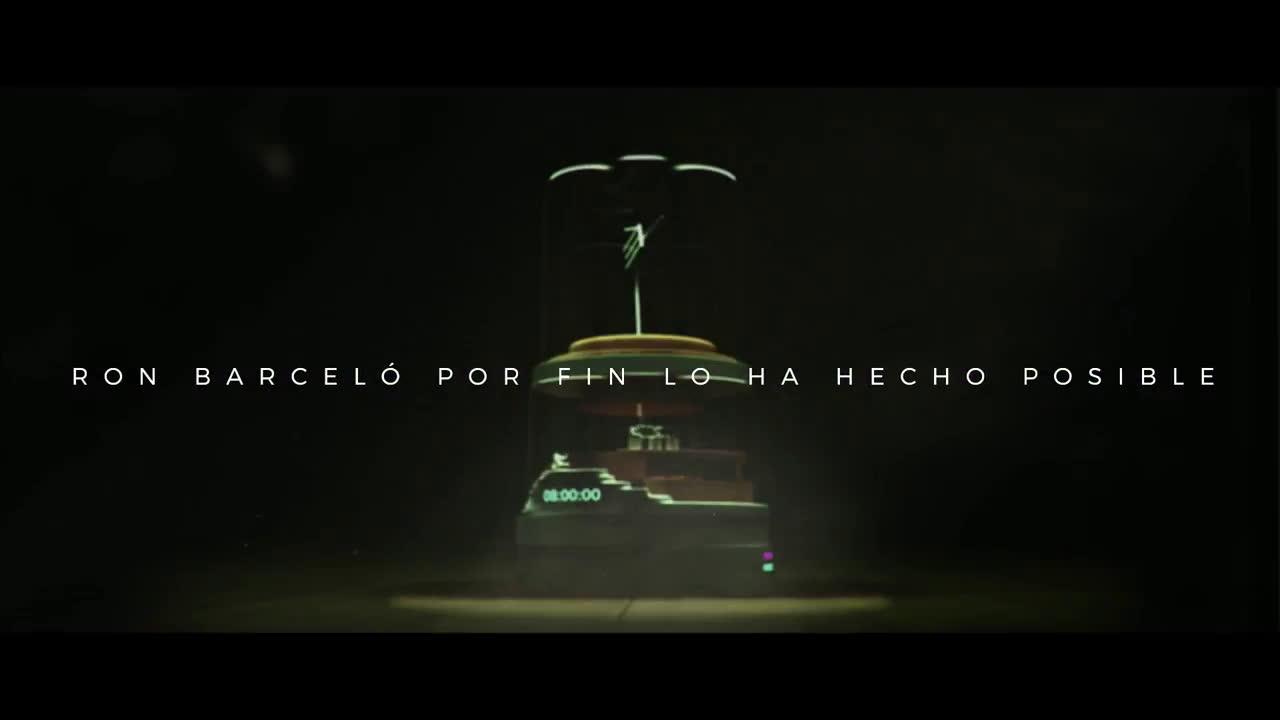 Ron Barceló ¿Quién podría vivir una vida entera de fiesta? anuncio