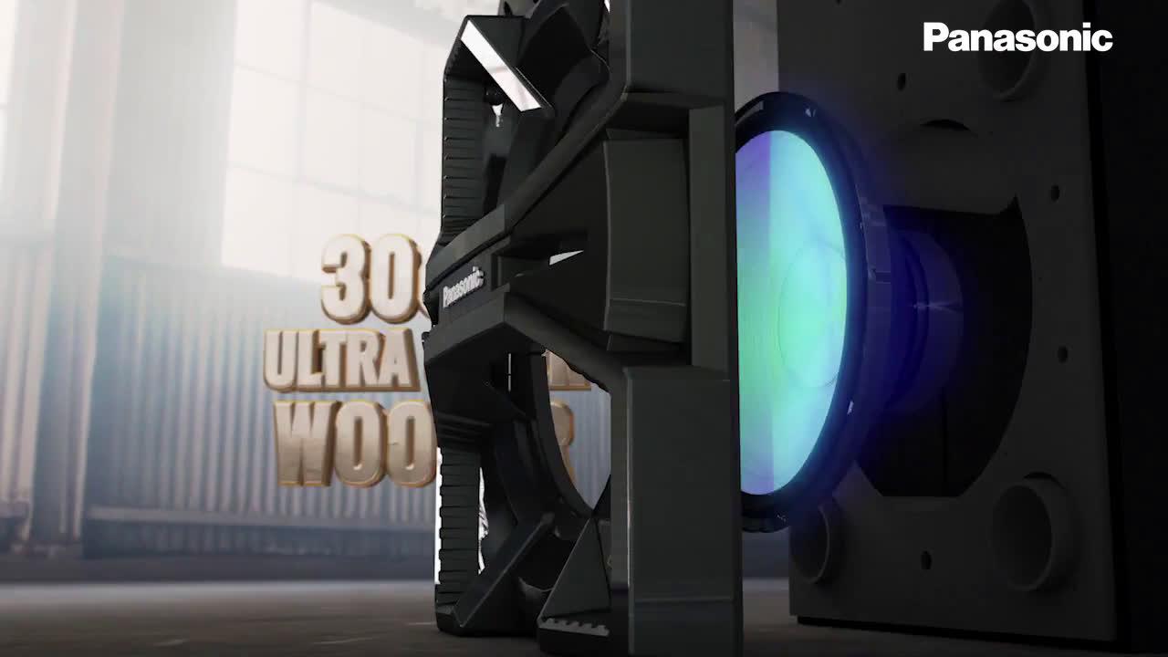 Panasonic Nueva Serie MAX: sonido de máxima potencia para cualquier fiesta anuncio