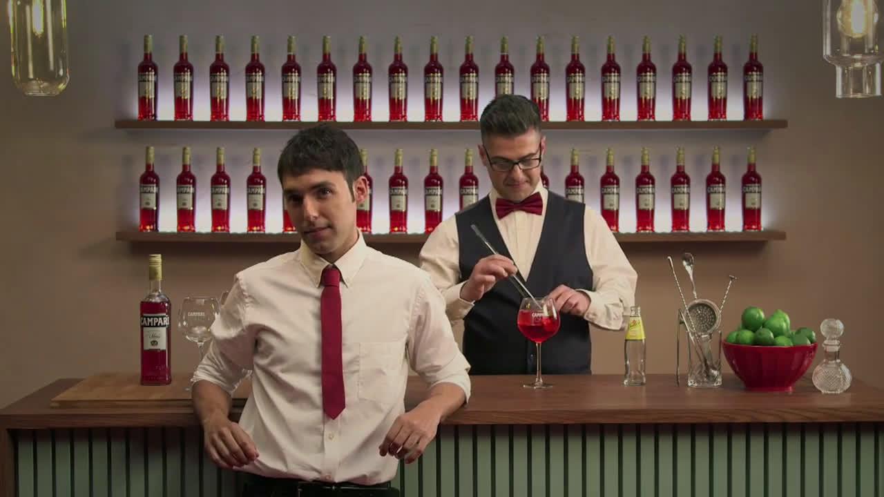 Campari Mago Pop y Giuseppe Santamaria anuncio