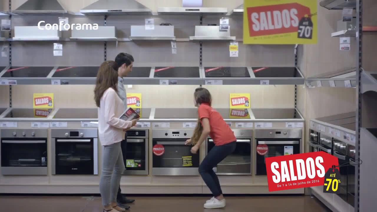 Conforama Aproveite os #SaldosConforama, de 1 a 14 de julho anuncio