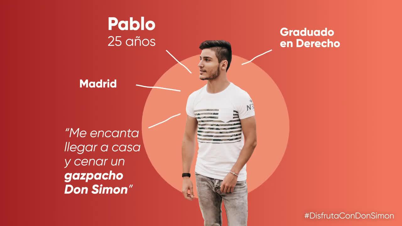 DON SIMÓN Gazpacho Ecológico Don Simon anuncio