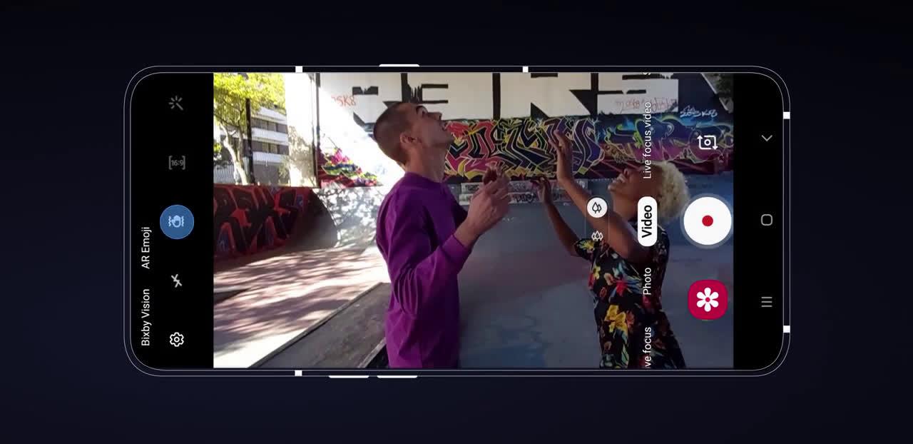 Samsung #GalaxyA80 | Cómo hacer videos con el modo Super Stedy en Galaxy A80 anuncio