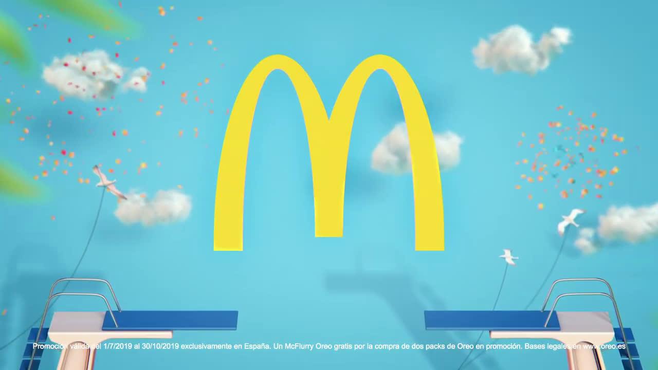 Oreo Mc Flurry Promoción  anuncio