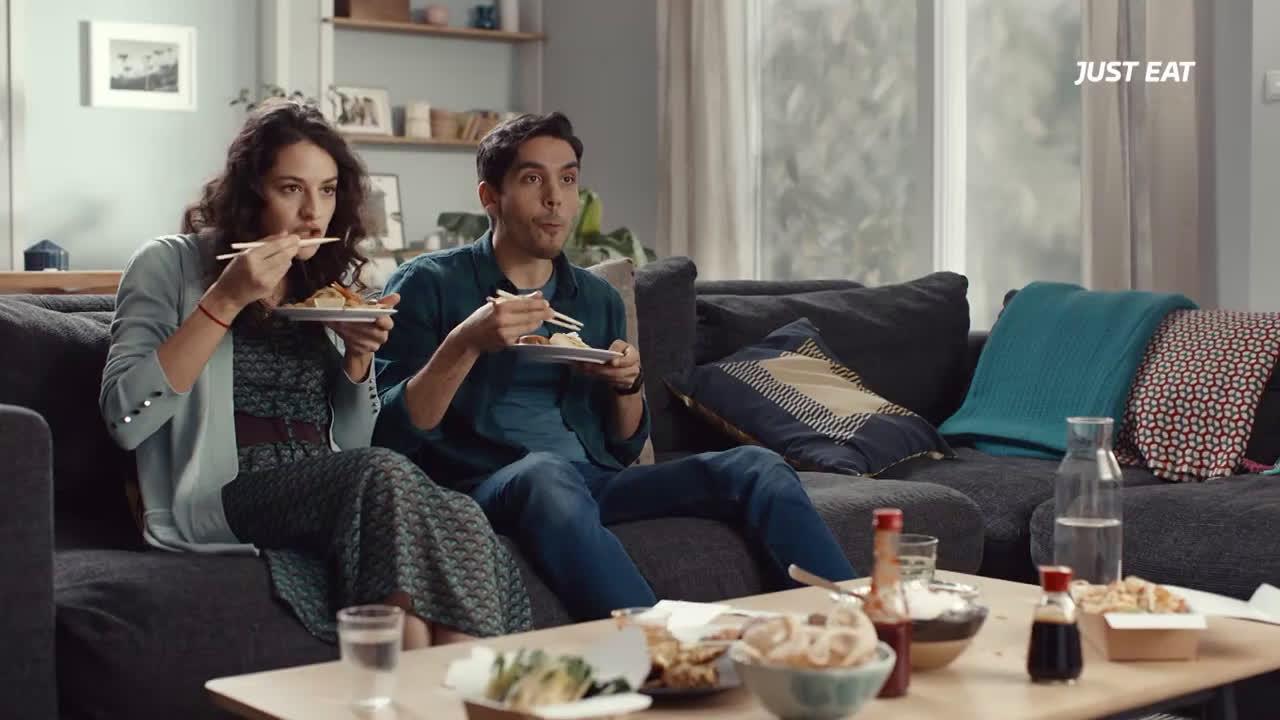 Just Eat ¿Alguien ha dicho Just Eat? anuncio