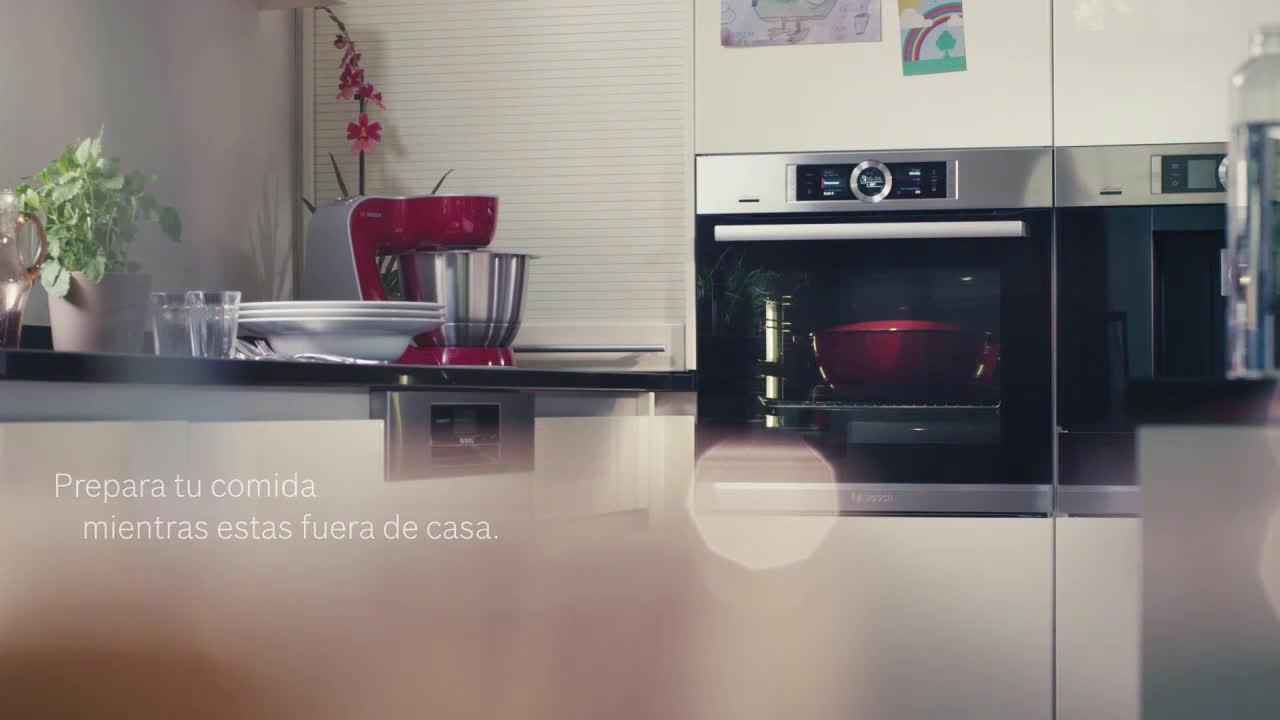 Bosch Horno inteligente Bosch con Home Connect 📱 anuncio