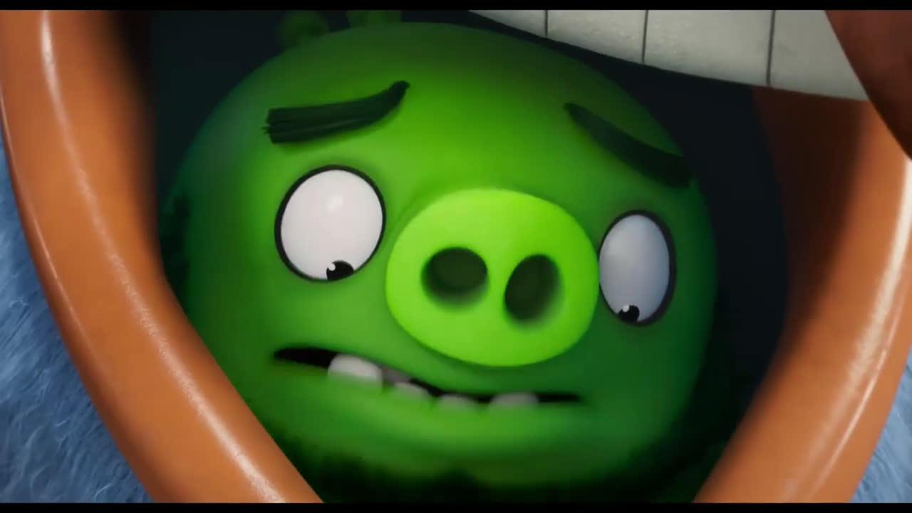 """Trailers In Spanish Angry Birds 2 La Película Clip """"Pájaros y cerdos en misión secreta"""" Español anuncio"""