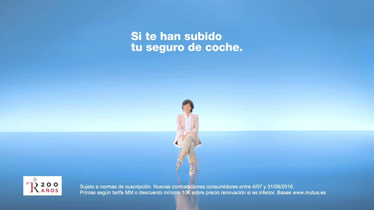 Mutua Madrileña A mí no me han subido el precio de mi seguro anuncio