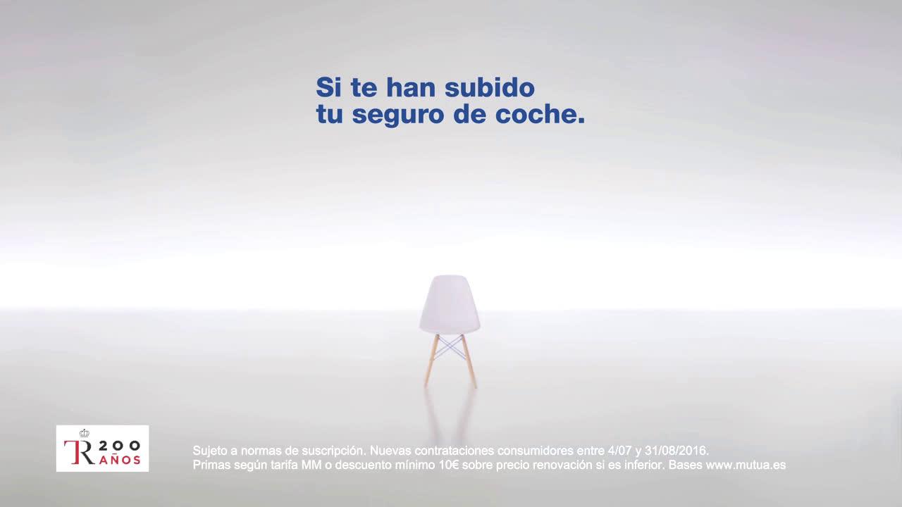 Mutua Madrileña ¿Por qué a mí si no doy partes?  anuncio
