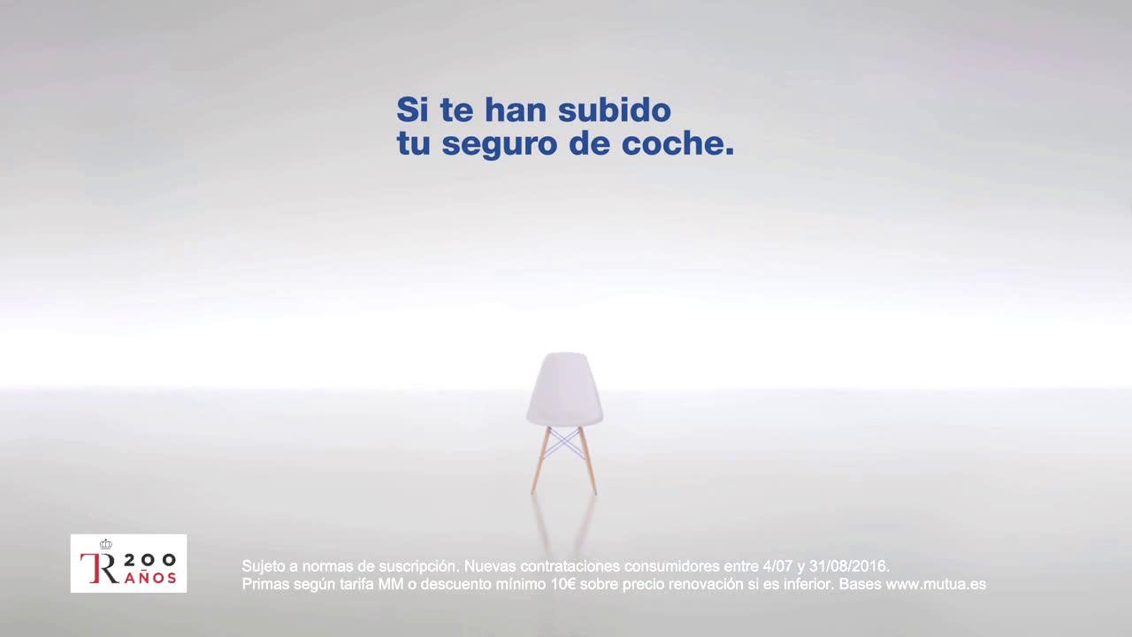 Mutua Madrileña ¿Por qué a mí si nunca me han puesto una multa? anuncio