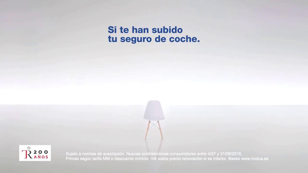 Mutua Madrileña ¿Por qué a mí si soy cliente de toda la vida?  anuncio