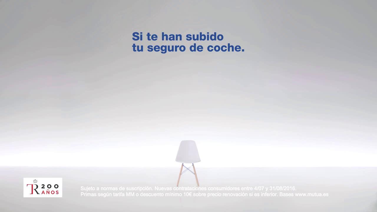 Mutua Madrileña ¿Por qué a mí si tengo todos los seguros en la misma compañía? anuncio