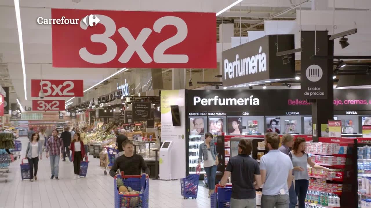 Carrefour 1,2,3, ¡promoción anuncio