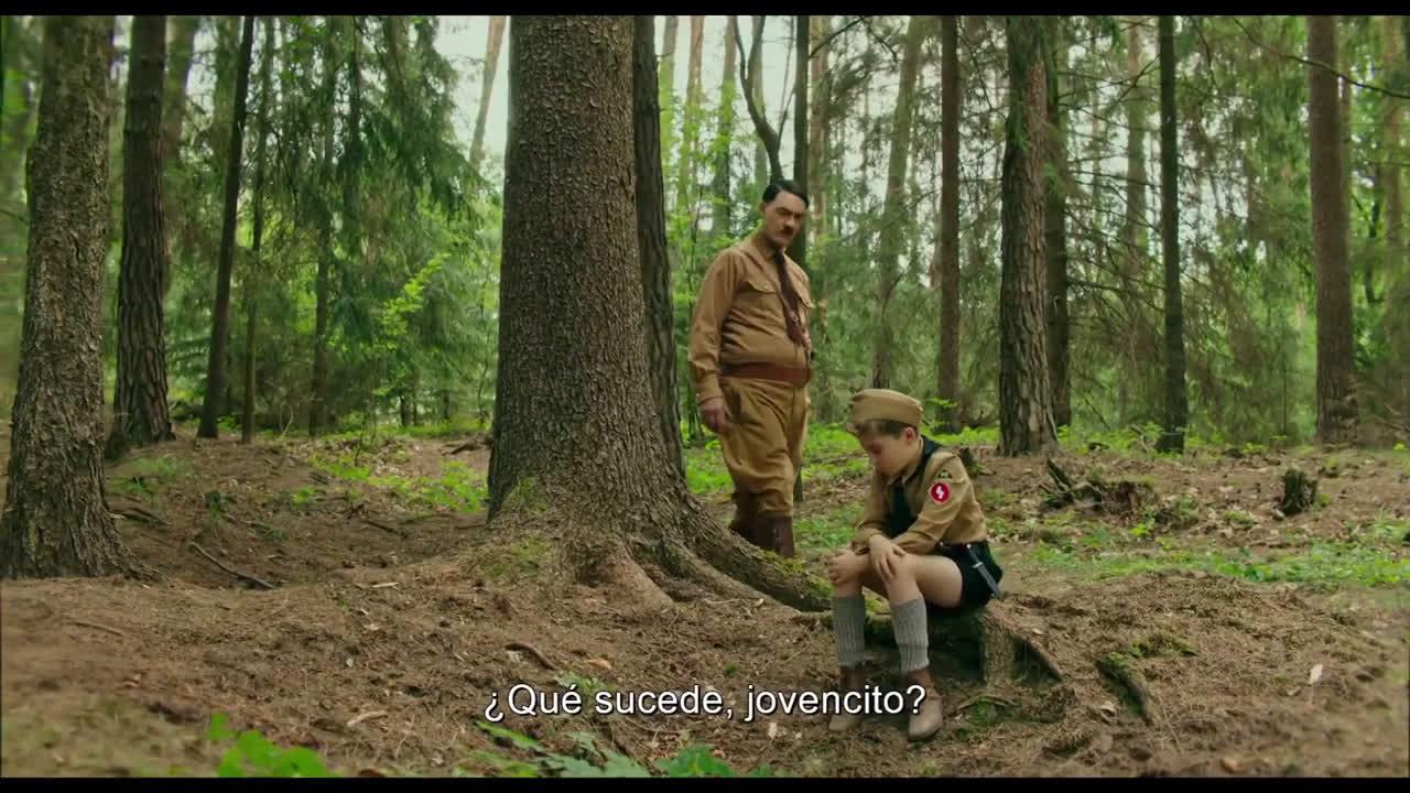 Trailers In Spanish Jojo Rabbit (2020) Tráiler Oficial Subtitulado anuncio