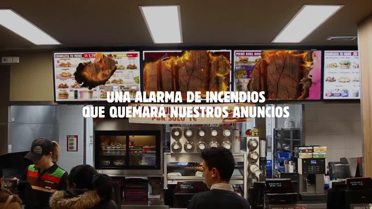 Burger King KING ALARM | El fuego, solo en nuestras parrillas anuncio