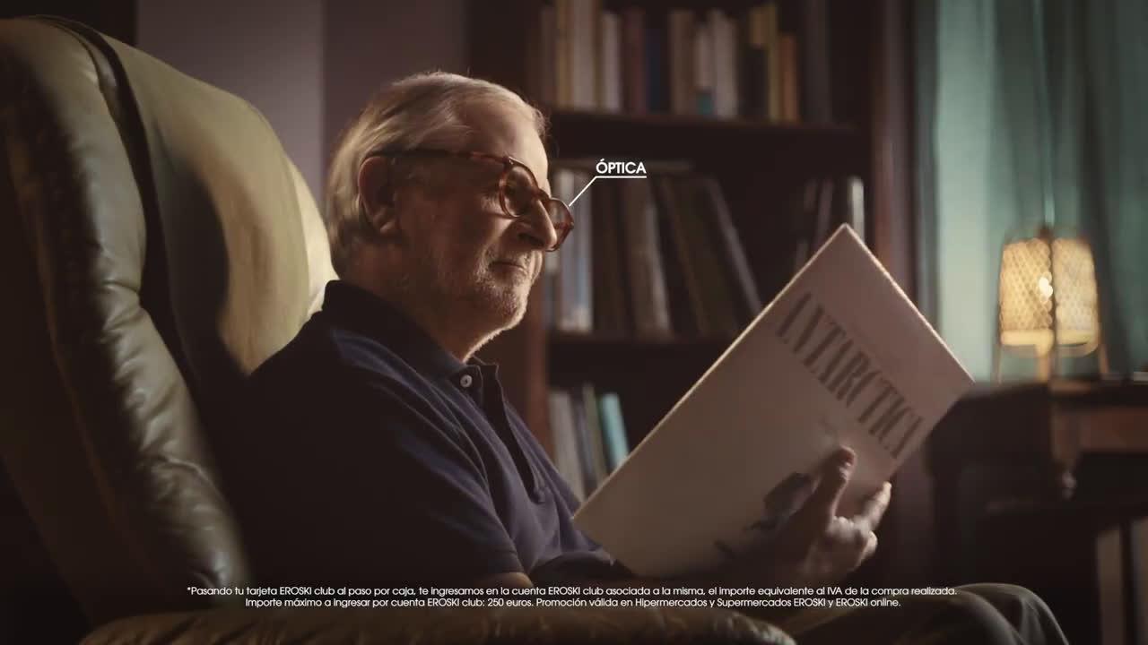 Eroski Escoge ahorrar anuncio