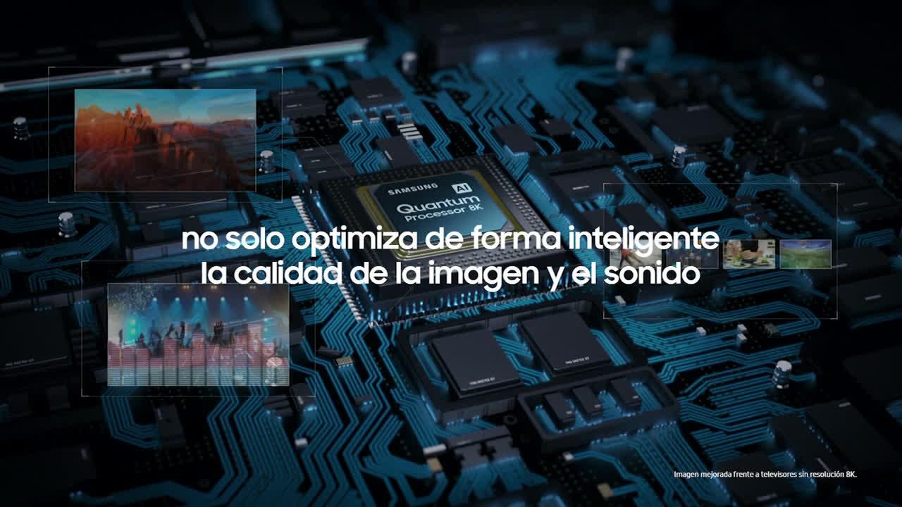 Samsung #QLED8K | Quantum anuncio